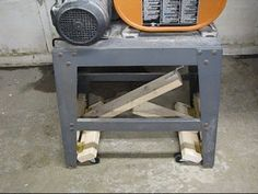 Table Saw Casters -- Mobile Base -- One-handed Operation - YouTube