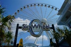 """myrtle beach, I have been here before but have not rode the """"skywheel"""" so I would like to go back and do this."""