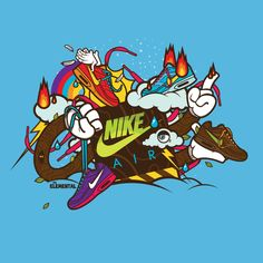 Nike Elemental by Jared Nickerson, via Behance