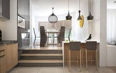 unique dining room feature walls - Google Search