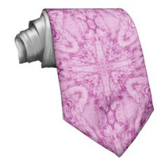 Pink Abstract Pattern Ties
