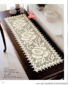 Search engine optimization For Interior Design Websites - Crochet Filet Crochet Table Runner Pattern, Crochet Tablecloth, Crochet Doilies, Filet Crochet Charts, Crochet Diagram, Doily Patterns, Crochet Patterns, Thread Crochet, Knit Crochet