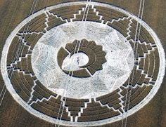Magical Crop Circle at East Kennett, near Avebury Wiltshire:    22nd July 2011.