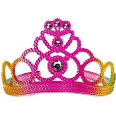 Child Rainbow Princess Tiara 3in - Party City