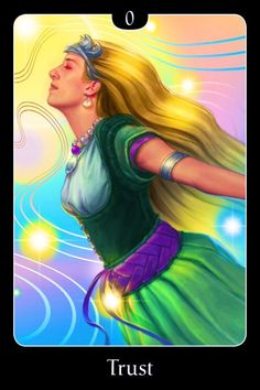 ~Trust~ (Pulled from the Psychic Tarot For The Heart Oracle Card deck, by John Holland) Thanks Lightworker Dana (<3)