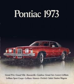Sales Brochure - GM 1973 Pontiac