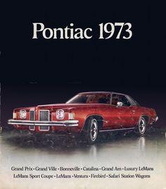 Sales Brochure - GM 1973 Pontiac