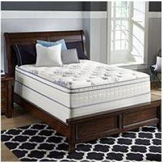 Serta Perfect Sleeper Valleybrook Cushion Firm Eurotop Mattress Queen Sam S Club Furniture Pinterest