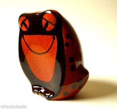 Mid Century Baldelli Art Pottery Frog Bank No. 80...