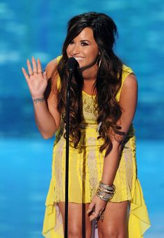 demi lovato at the teen choice awards  | lovato show everyone browse all demi lovato photos start over