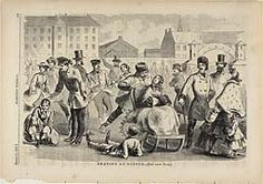 """@ Art Institute of Chicago — Winslow Homer, """"Skating At Boston"""" published by Harper's Weekly March 12, 1859"""