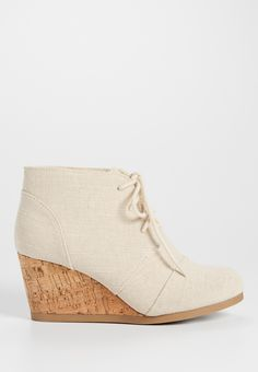 Colby cork wedge in beige (original price, $34.00) available at #Maurices