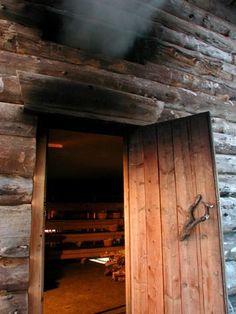 Smoke sauna.