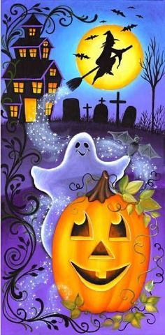 Retro Halloween, Spooky Halloween, Deco Porte Halloween, Halloween Chat Noir, Theme Halloween, Halloween Clipart, Halloween Prints, Halloween Painting, Holidays Halloween