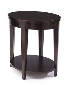 Glamour Table, Oval End Table   Coffee, Console U0026 End Tables   Furniture