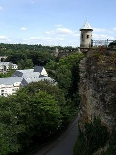 The Grund in luxembourg City. Love this itty bitty country! Lots of fun everytime we went! :o)