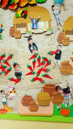 가을 환경판 : 네이버 블로그 Korean Art, Easter Party, Art For Kids, Craft Projects, Arts And Crafts, Clay, Kids Rugs, Holiday Decor, Children