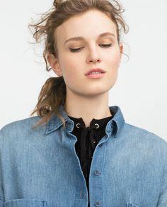 Image 6 de CHEMISE EN JEAN XL de Zara