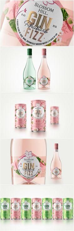 Gin Brands, Gin Fizz, Wine Packaging, Wine Design, Article Design, Brand Design, Design Agency, Graphic Design Inspiration, Package Design
