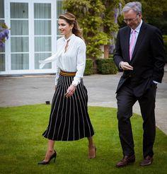 ♔♛Queen Rania of Jordan♔♛... Queen Rania of Jordan attended Google Zeitgeist panel held at Google headquarters in Hertfordshire