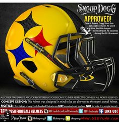 Pittsburgh Steelers Pittsburgh Steelers Helmet, Cool Football Helmets, Steelers Gear, Football Uniforms, Nfl Football, Dallas Cowboys, Little League Football, Indianapolis Colts, Cincinnati Reds