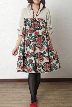 model dress batik big size - Google Search