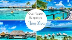 Bora Bora Water | Here are all the Bora Bora overwater bungalows and their location ...