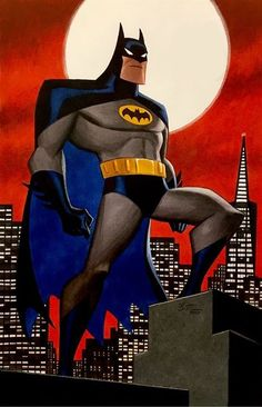 Batman The Animated Series by Bruce Timm
