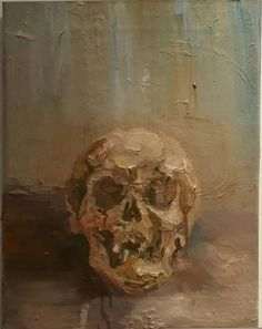 Gerard Waskievitz natura morte  2018 Öl auf Leinwand 40 x 30 cm Michaela Helfrich Galerie