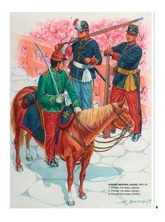 Guerra Boshin, Satsuma Rebellion, Boshin War, Japanese Uniform, Japanese Warrior, Samurai Armor, Army Uniform, Military History, Warfare