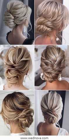 13 Super Charming Wedding Hairstyles for 2020 #wedding #weddinghairstyle #bridalhairstyle #bridalhair #weddingupdo Everyday Hairstyles, Formal Hairstyles, Vintage Hairstyles, Hairstyles With Bangs, Wedding Hairstyles, Girl Hairstyles, Summer Wedding Colors, Wedding Updo, African Hairstyles