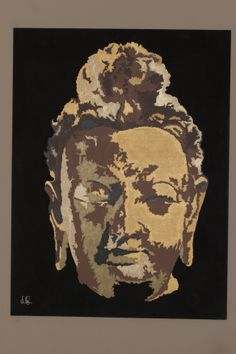 """Buddha"" Leland Sharp, Acrylic 36 X 48 Have one to sell $4,500 no prints are available"