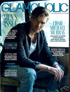 Chad Michael Murray Covers The Men's Issue Of Glamoholic http://www.glamoholic.com