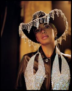 Rhinestone Fringe Trim Crystal Silver wide Jazz dance costumes pageant dresses ballroom bridal we Estilo Cowgirl, Black Cowgirl, Cowgirl Chic, Cowgirl Style, Mode Disco, Jazz Dance Costumes, Teen Costumes, Woman Costumes, Pirate Costumes