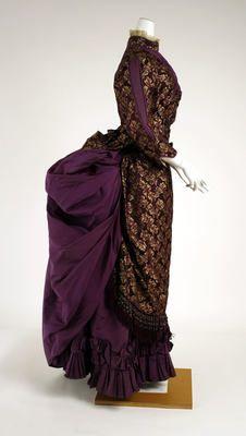 Dress (side)  1882–83