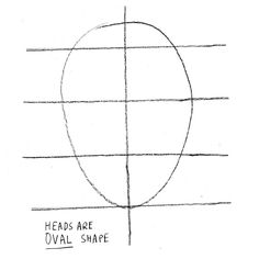 How to create a portrait. How To Draw A Simple Face. - Step 3 Draw an oval shape circle in the centre of the line like this. http://www.cutoutandkeep.net/projects/how-to-draw-a-simple-face