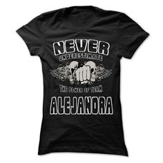 Never Underestimate The Power Of Team ALEJANDRA - 99 Co - #school shirt #sweatshirt girl. WANT THIS => https://www.sunfrog.com/LifeStyle/Never-Underestimate-The-Power-Of-Team-ALEJANDRA--99-Cool-Team-Shirt-.html?68278