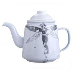 KuDu Home - Teapot Homeware Kitchenware Afrodelft Afrochic Modern Enamel