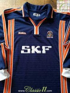 61ccdbd350c 2001 02 Luton Town Away Football Shirt (L). Football KitsFa CupSoccer ...