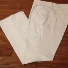 St. John's Bay ivory corduroy jeans, 16 St John's Bay corduroy ivory jeans, size 16 average.  Great condition!   . St John's Bay Pants