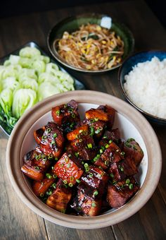 chinese red-cooked pork belly recipe | use real butter