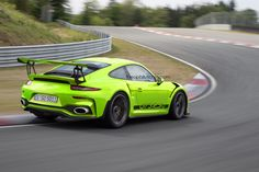Porsche 911 GT3 RS Rendered With A 4.2-Liter Engine If rumors are right, the modernized 991.2-generation Porsche 911 GT3 RS will get a renovated 4.2-liters engine. Porsche has already got a topping naturally-aspirated flat six engine and together with the upgrades, the model will receive a 25 hp increase. The current powertrain of the car is 493...