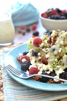 ... on Pinterest | Blackberry Salad, Strawberry Scones and Wedge Salad