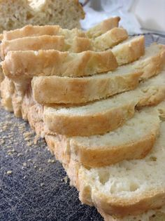There IS Life After Wheat: Fresh Baked Gluten Free Bread. Better than any store-bought GF bread you'll find! Includes a link to a great flour mix recipe too!