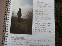 Create A Family Adventure Journal...this was for nature trips but I think it's a great idea for any family activity, field trip, and/or adventure! When kids can write, they can include their own memories/thoughts.