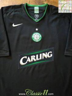 Official Umbro Celtic away football shirt from the 2005/2006 season.