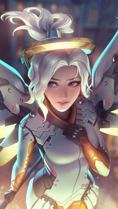 Here is my first animation entry for Overwatch. Female Characters, Anime Characters, King's Quest, Overwatch Wallpapers, First Animation, Overwatch Fan Art, Fantasy Warrior, Attack On Titan Anime, Game Art