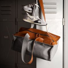 Fancy - Gym Bag by Hard Graft: http://www.houseexercises.com/your-gym-bag-talks-about-you.html