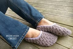 The Sarah Slippers are so perfectly soft and cozy! They stitch up super quick and make a great gift for yourself or someone special.