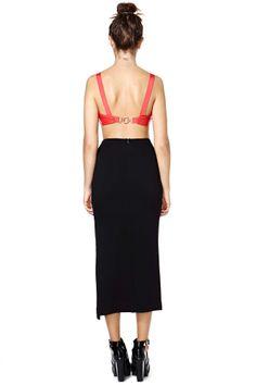 Nasty Gal Just Enough Midi Skirt | Shop Bottoms at Nasty Gal